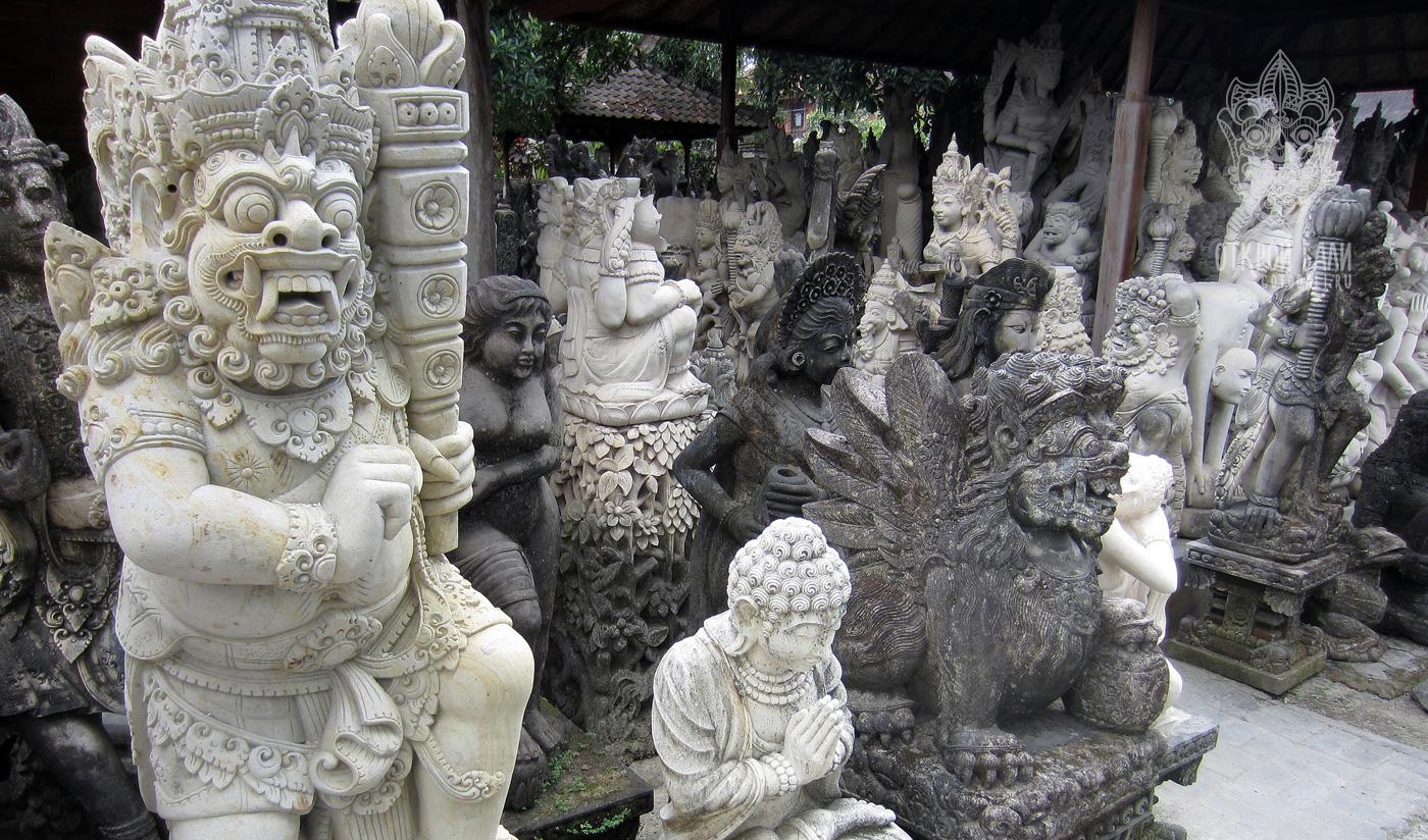 Деревня Батубулан на Бали