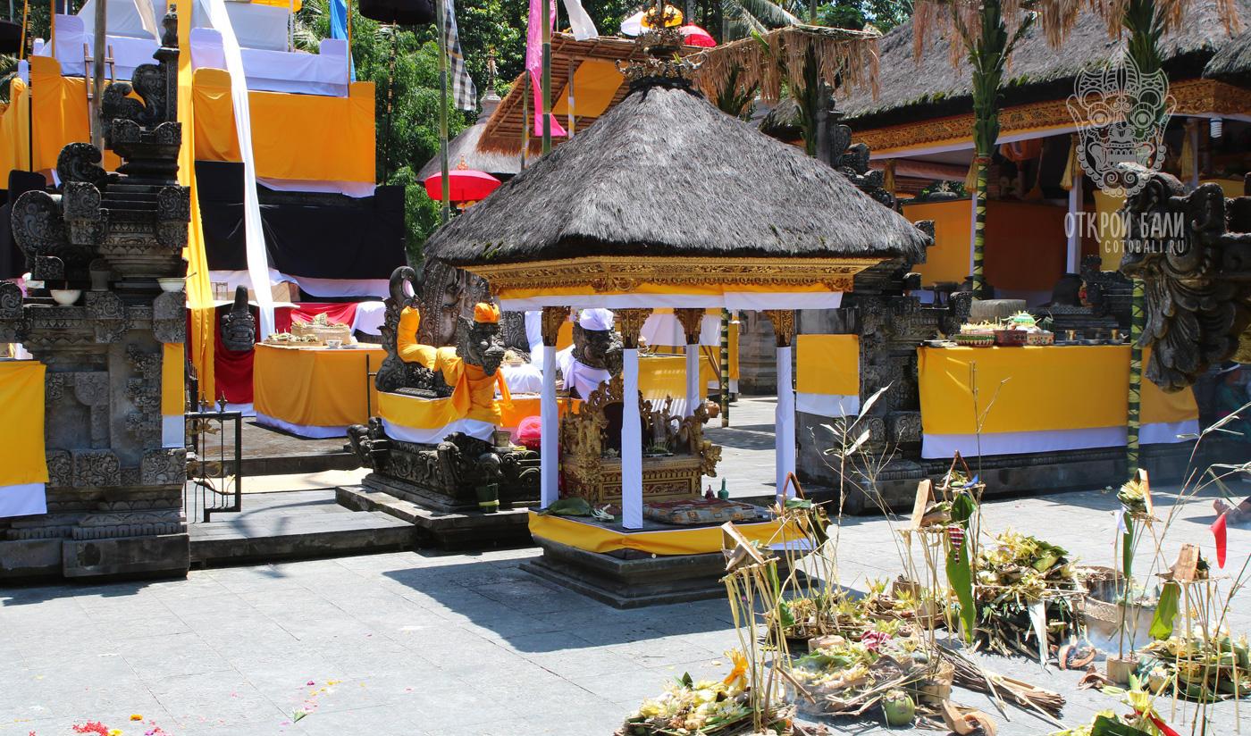 Храм Тирта-Эмпул на Бали