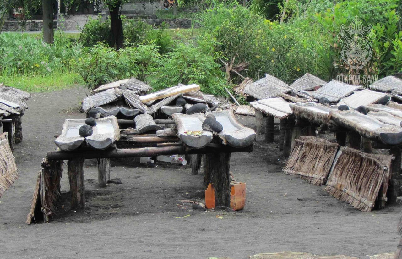 Деревня Кусамба (Kusamba)
