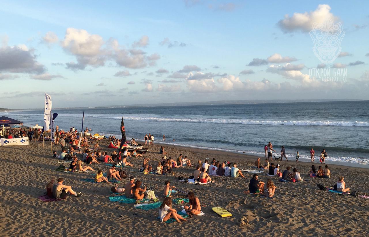 Пляжи Чангу (Canggu)